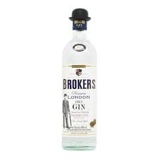 Brookers London Dry Gin 47°  70CL