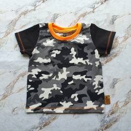 Basic Tee - Army - Maat 80