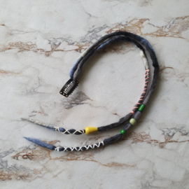 Dreadlock clip-in - 44/40 cm - Winter