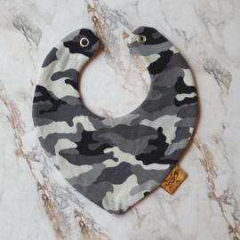 Slabbetje army grey