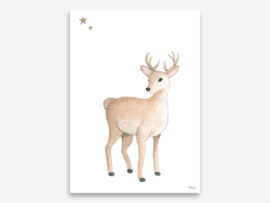 A4 hert met sterren