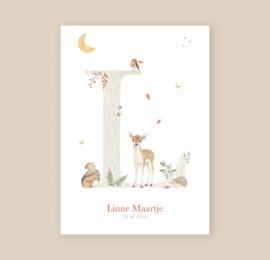 A3 letterposter (op bestelling)