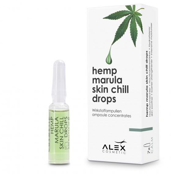 Hemp Marula skin chill drops (7x 1,5ml)