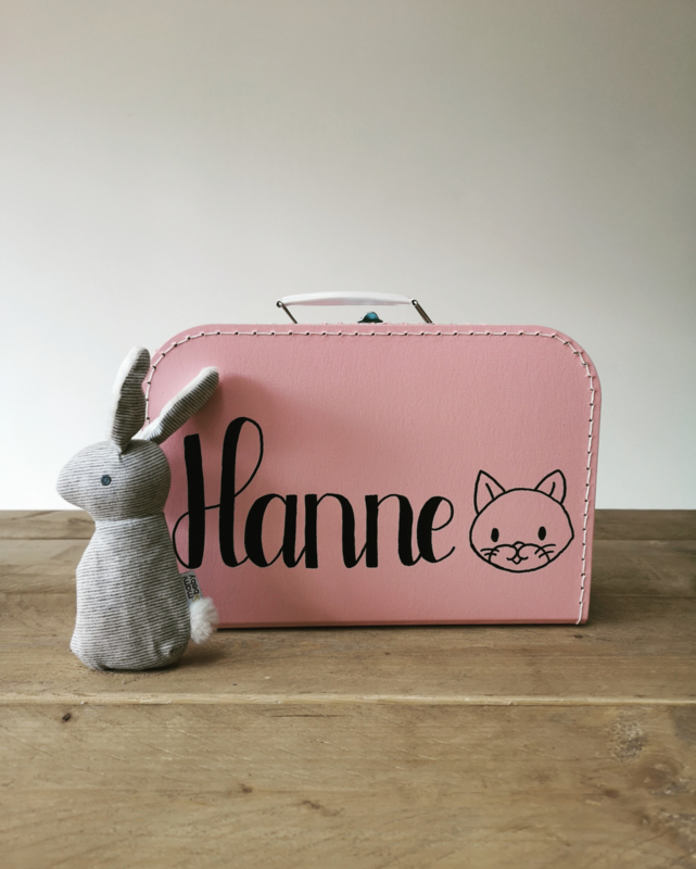 Koffertje met naam