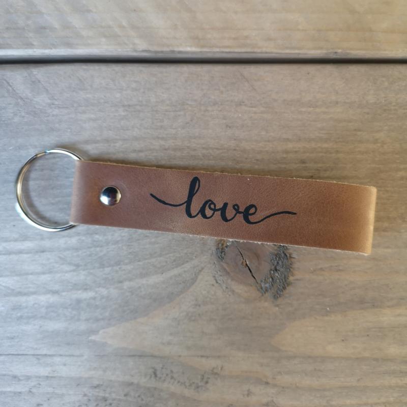 Sleutelhanger - love