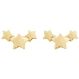 Tiny Stars | Studs | Gold