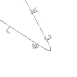 Luck | Ketting | Silver