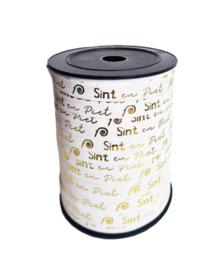 Sint & Piet | Goud-Wit | 3m