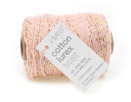 Cotton cord | roze goud | 3m