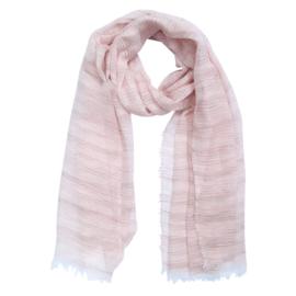Stripe | Sjaal | Pink-Brown