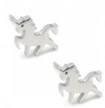 Unicorn | Studs | Silver