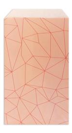Facet Peach | inpakzakjes | 5 stuks