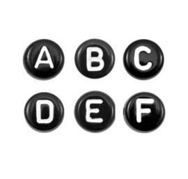 Letterkralen | Zwart-Wit | Gemixt