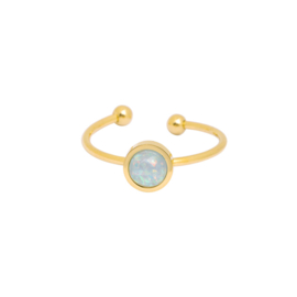 Be You | Ring | Gold-Blue
