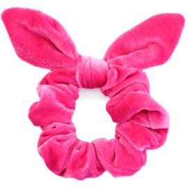 Velvet Ribbon | Scrunchie | Pink