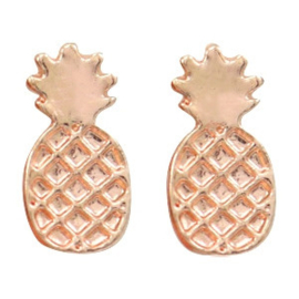 Pineapple | Studs | Rosé