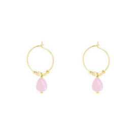 Fancy | Oorbellen | Gold-Pink