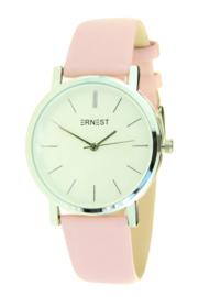 Ernst | Horloge | Roze-Zilver