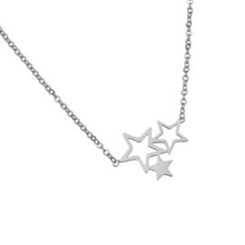 Triple Stars | Ketting | Silver