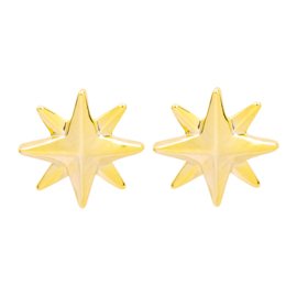 Ear studs Gold/Silverplated