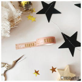 Kerst | Washi/Masking Tape | Goldfoil