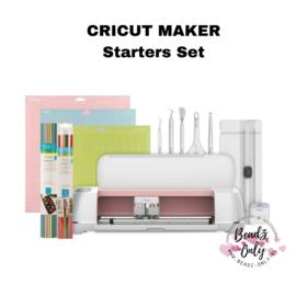 Cricut Maker - Starters Set  (Rosé Kleur)