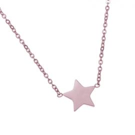Star | Ketting | Rosé