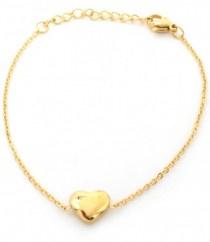 Heart | Bracelet | Gold