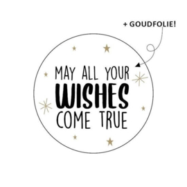 May All Your Wishes Come True | Stickers | 10 Stuks