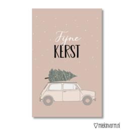 Fijne Kerst   Mini kaart