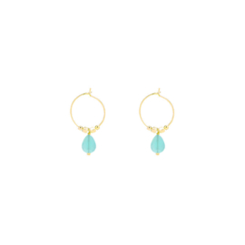Fancy | Oorbellen | Gold-Mint
