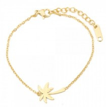 Palm Tree | Bracelet | Gold