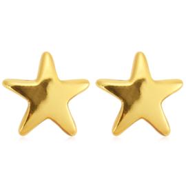 Star | Studs | Gold