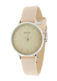 Ernst | Horloge | Nude-Silver