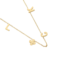 Luck | Ketting | Gold