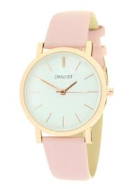 Ernst | Horloge | Roze-Goud