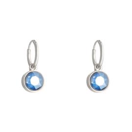 Shine Bright | Oorbellen | Blue-Silver