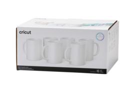 Cricut mug white 440ml (6 stuks) | PRE-ORDER