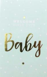 Welkom Baby Blue | Stickers | 10 stuks