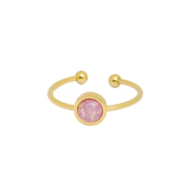 Be You | Ring | Gold-Pink