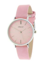 Ernst | Horloge | Pink-Silver