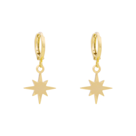 Galaxy Star | Oorbellen | Gold