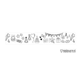 Feest! | Washi/Masking Tape