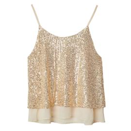 Glitter | Top | Gold