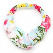 Flowers | Haarband | Blauw