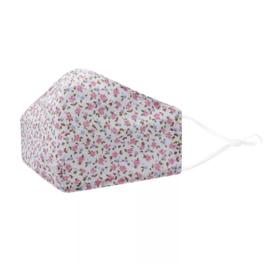 Wasbare | Mondkapje | Pink Flowers