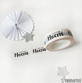 Hiep Hiep Hoera | Washi/Maskin Tape