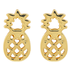 Pineapple | Studs | Gold