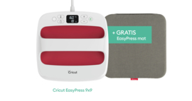 Cricut Easypress 2 Raspberry 9x9 inch (22,5 x 22,5 cm) + GRATIS Mat