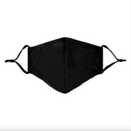 Wasbare | Mondkapje | Zwart